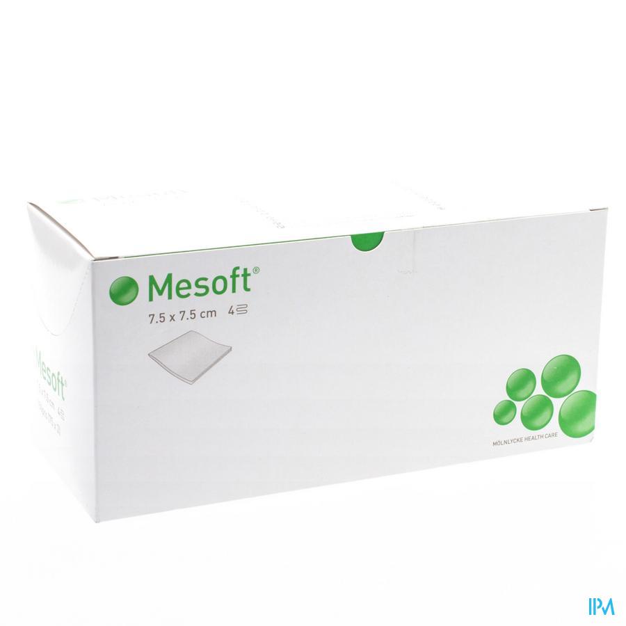 Mesoft Kompres Steriel 4l 7,5x 7,5cm 75x2 156140 - Molnlycke Healthcare