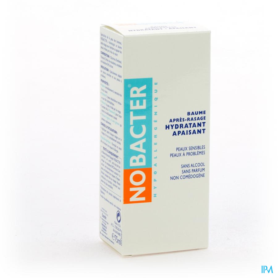 Nobacter Baume Apres Rasage 75ml