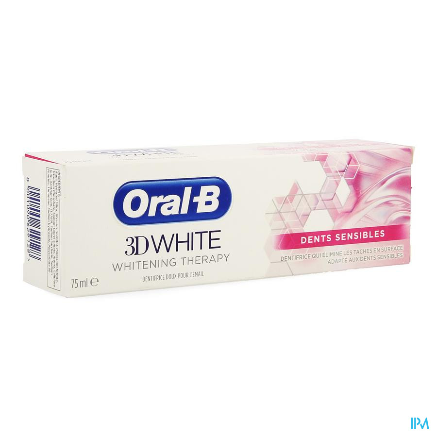 Oral-b 3d White Sensitive 75ml