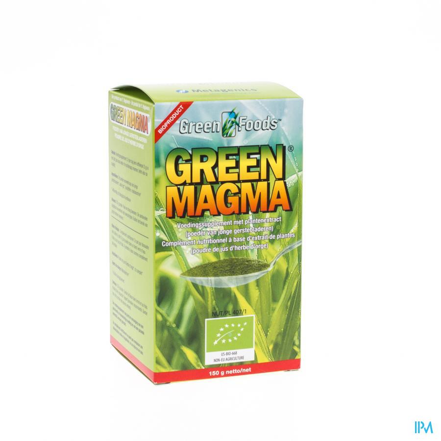 Green Magma 150 Poeder 150 gr 37 Metagenics