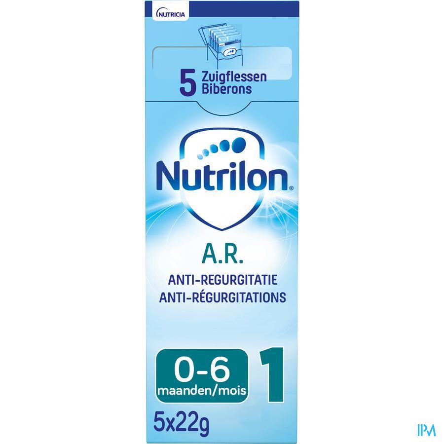 Nutrilon AR 1 poeder 5x22g Volledige zuigelingenvoeding