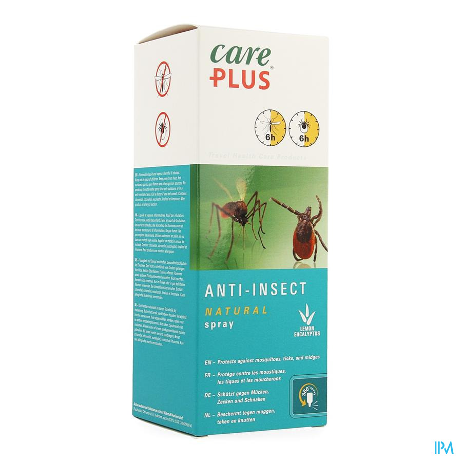 Care Plus A/insect Natural Spray 200ml
