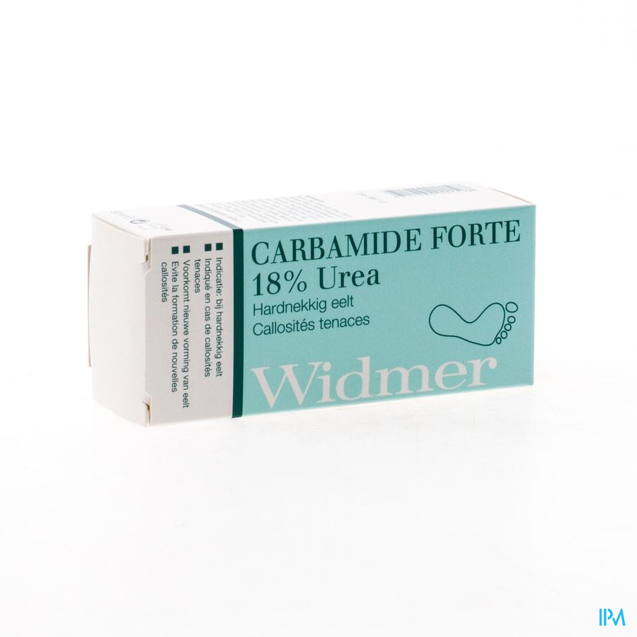 Widmer Carbamide Forte 18% Urea Tube 50ml