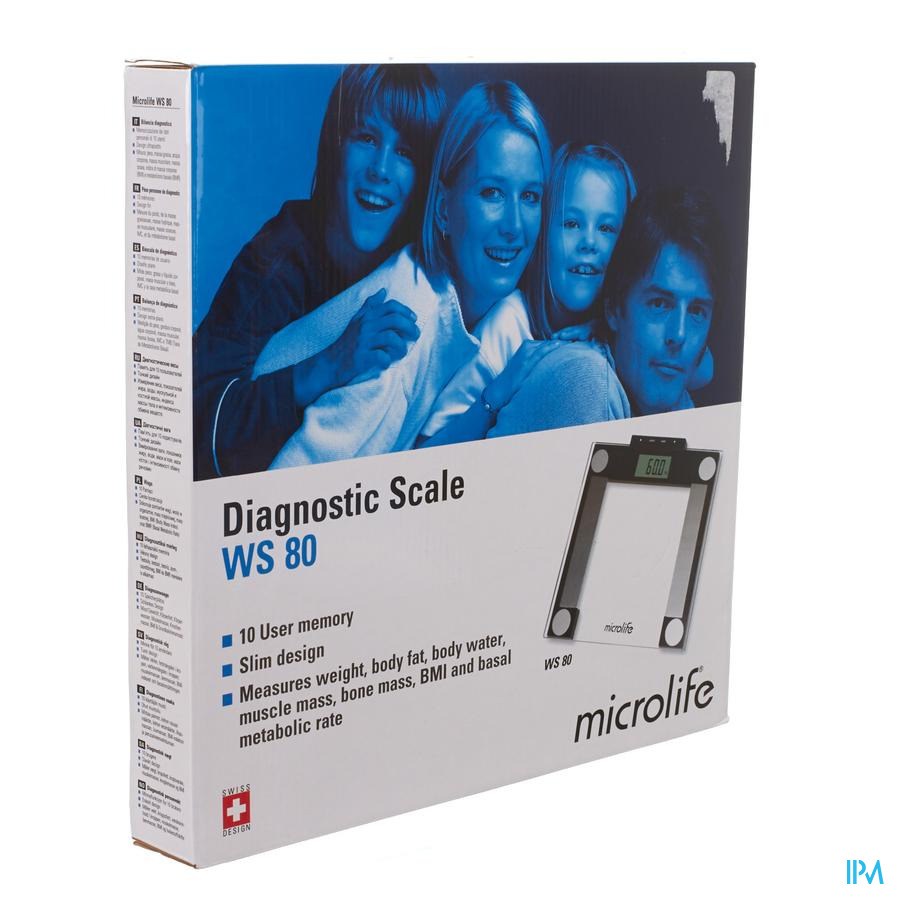 Microlife Personenweegschaal Diagnostisch Ws80