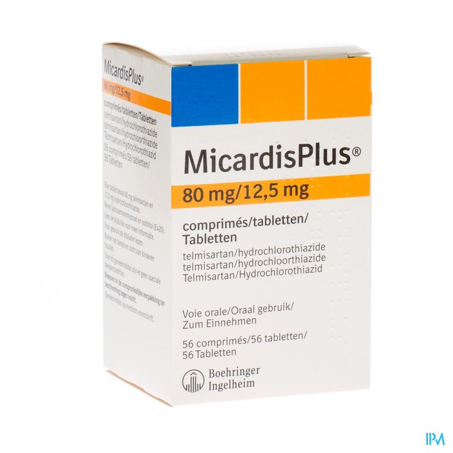 Micardisplus Comp 56 X 80mg/12,5mg