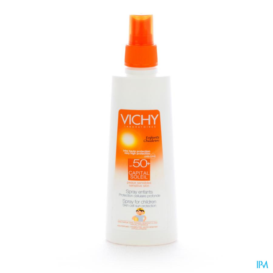 Vichy Cap Sol Ip50+ Spray Enf P Sens 200ml