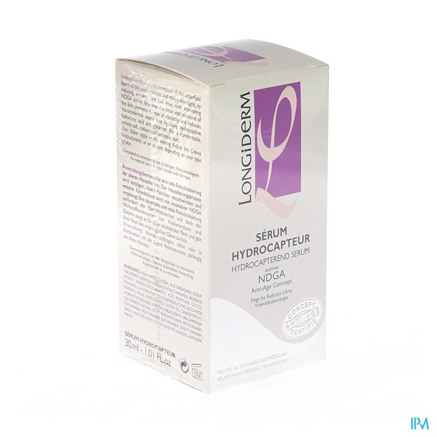 Longiderm Serum Hydrocapterend A/age Gelaat 30ml