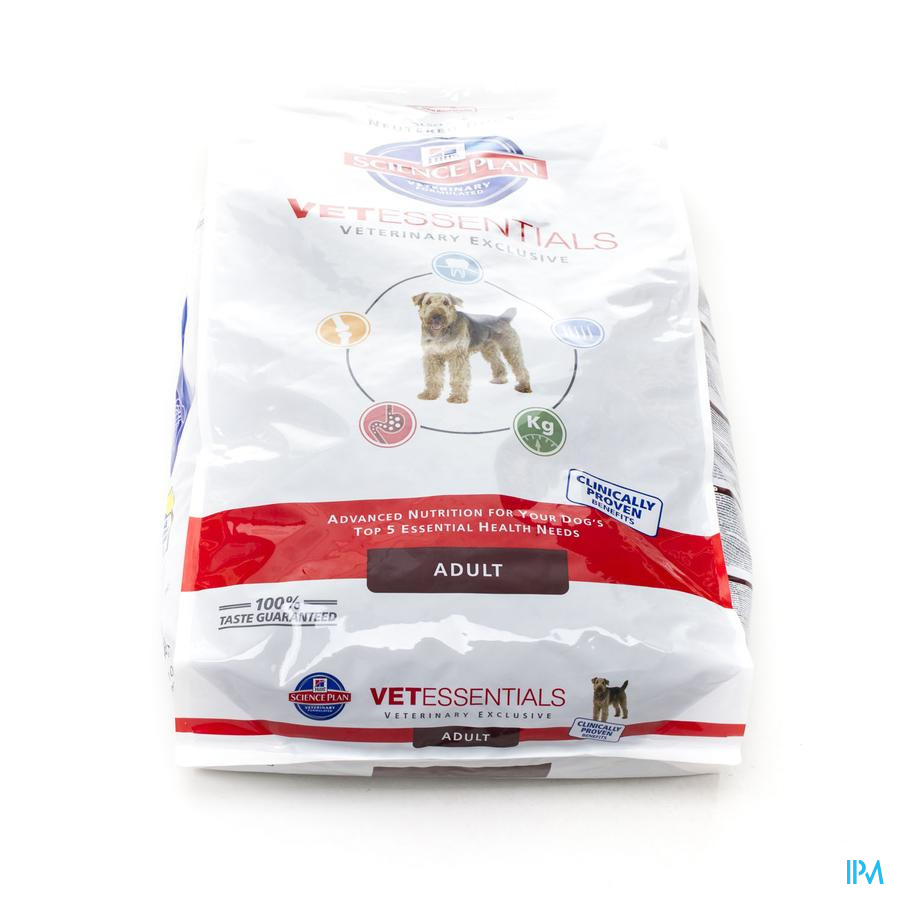 Hills Sc.plan Vet Essent.canine Adult 10kg