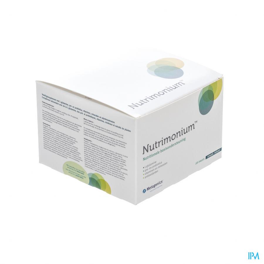 Nutrimonium Natuur Nf Pdr Zakje 28 15822metagenics