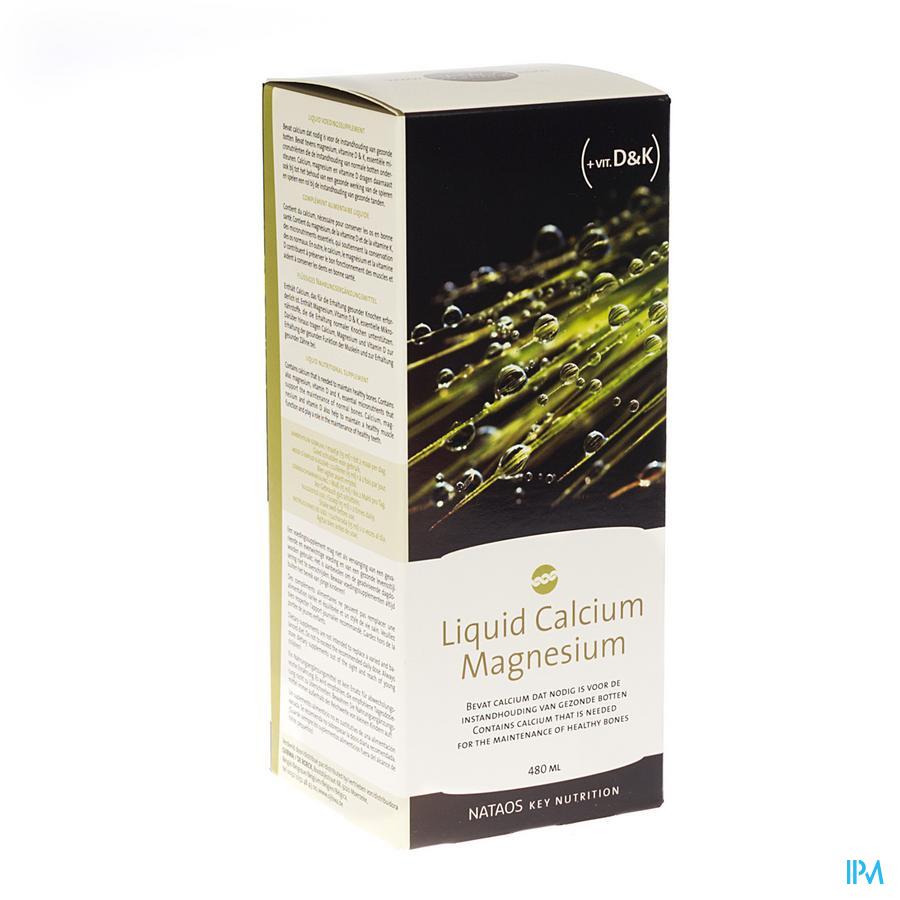 Liquid Calcium Magnesium 480ml