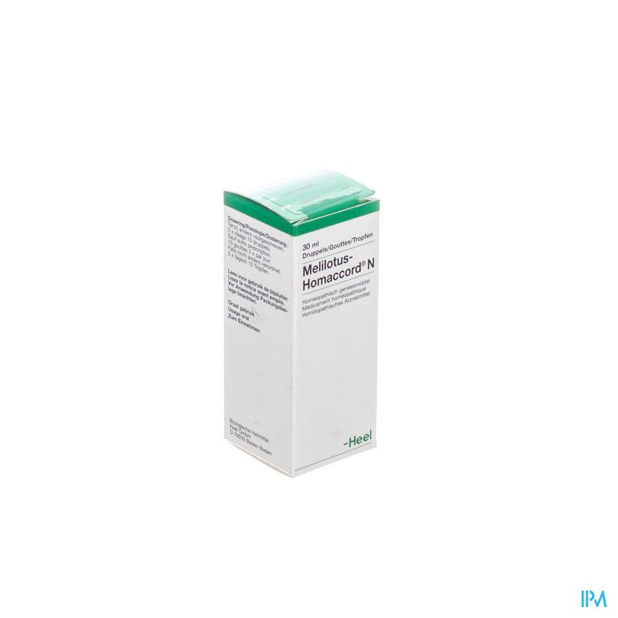 Melilotus-homacc. N Gouttes 30 ml  -  Heel-Belgium
