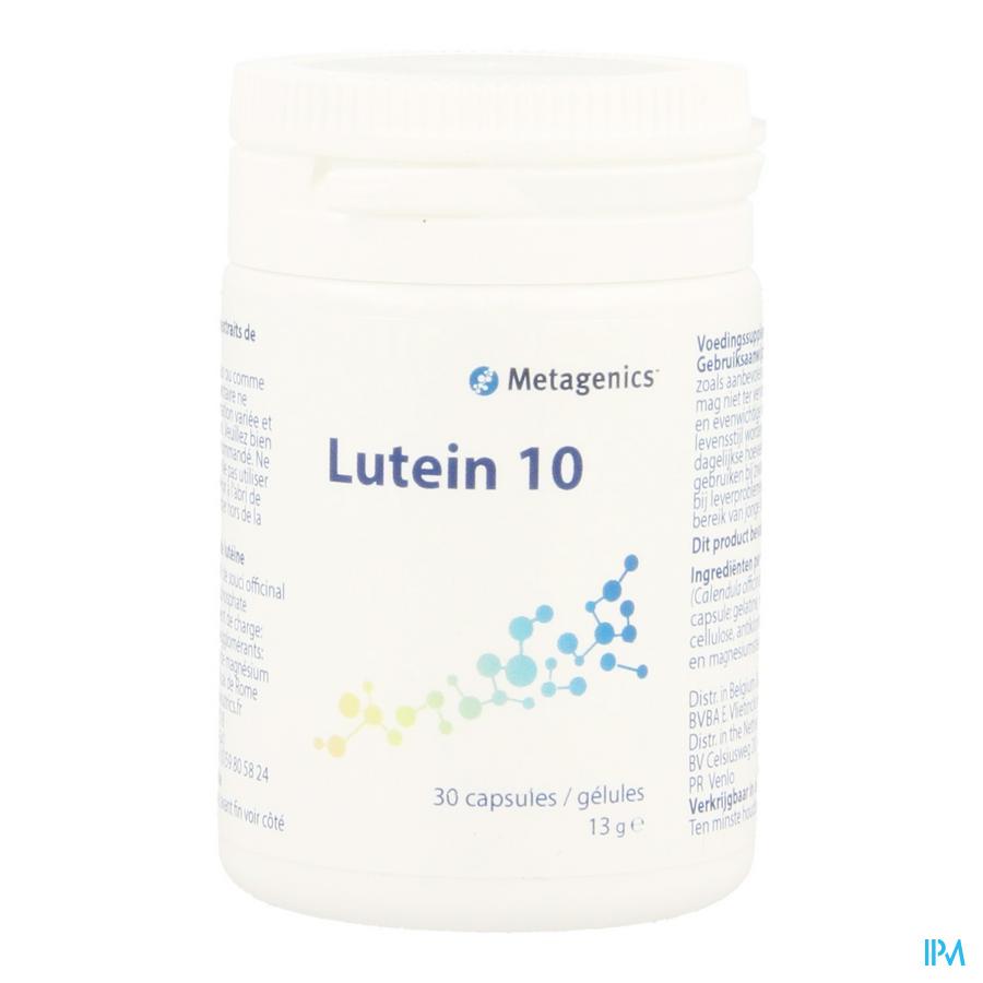 Luteine 10 2% Capsule 30 549 Metagenics