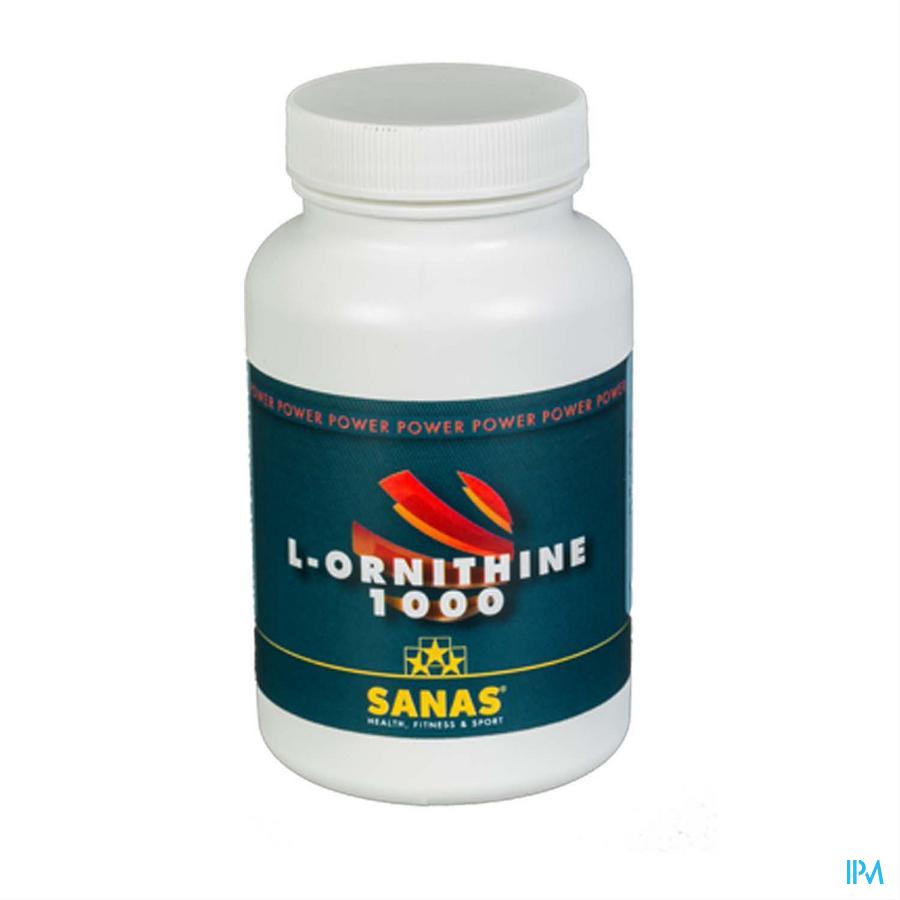Sanas l-ornithine 1000 Caps 60