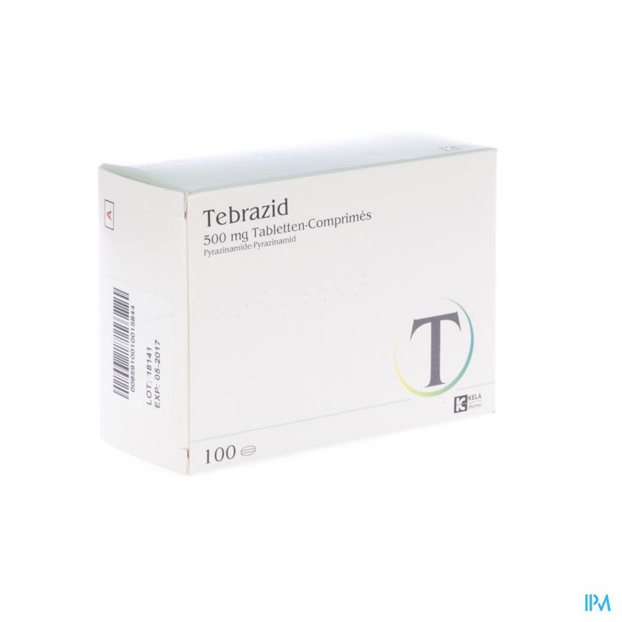 Tebrazid Comp 100 X 500mg