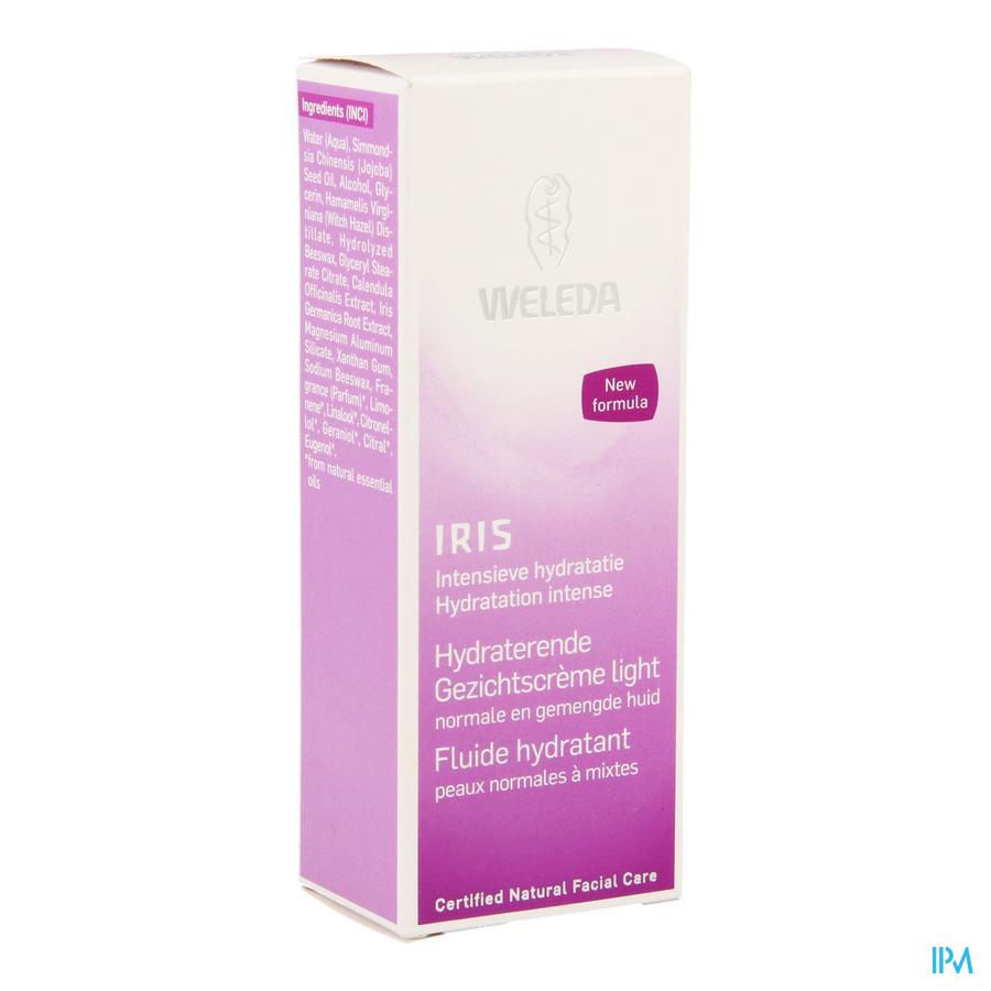 Weleda Iris Gezichtscreme Hydra Nf Tube 30ml