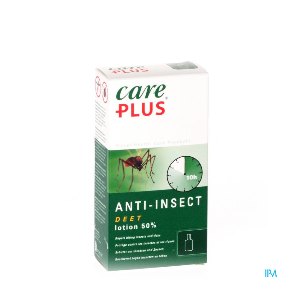 Care Plus Deet A/insect Lotion 50% 50ml