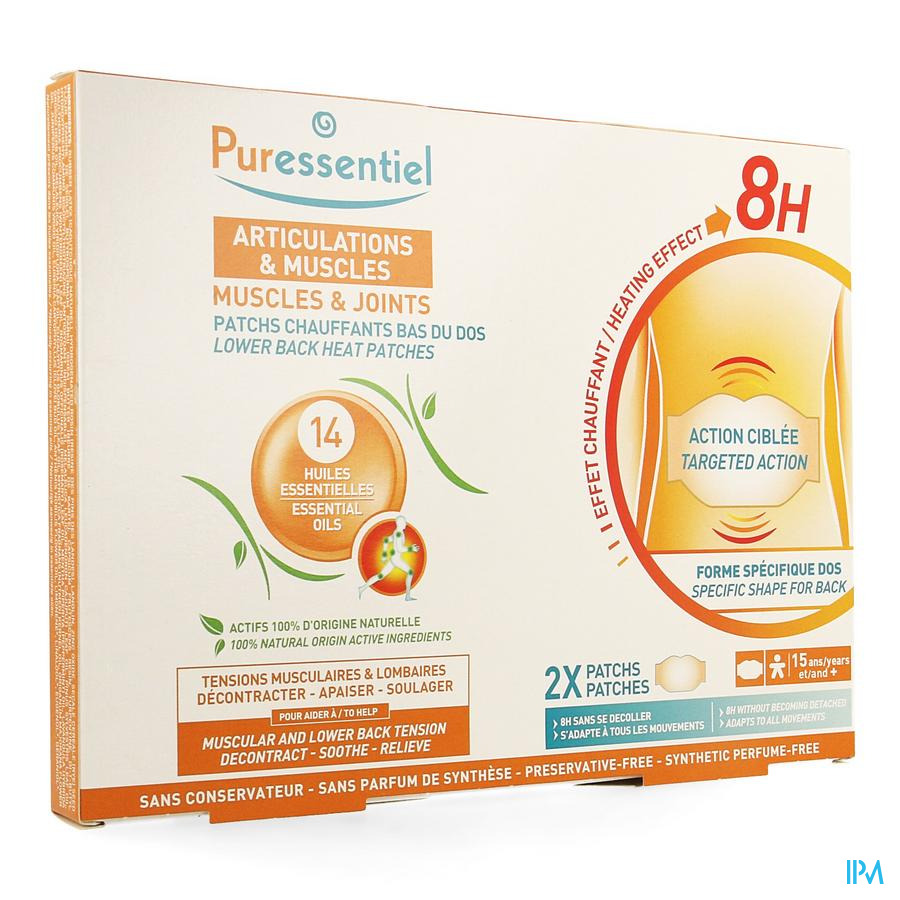 Puressentiel Articulation Muscl.patch Chauff.lomb2