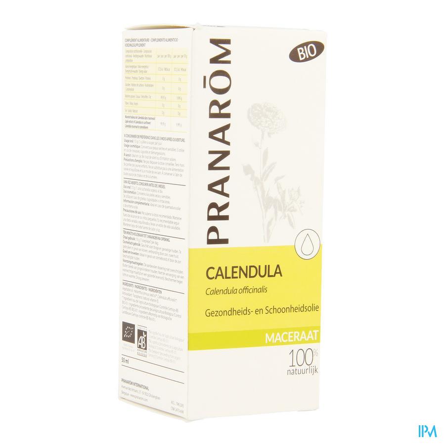 Calendula Bio Lipide Extract 50ml Pranarom