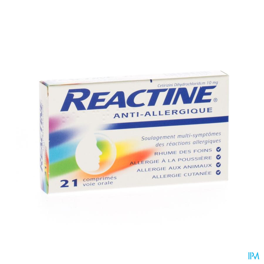 Reactine Comp 21x10mg