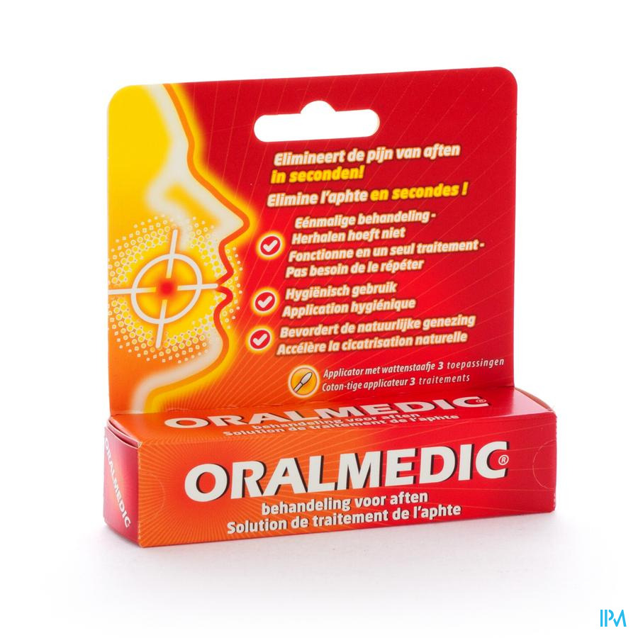Oralmedic Contre Aphtes Applicateur 3