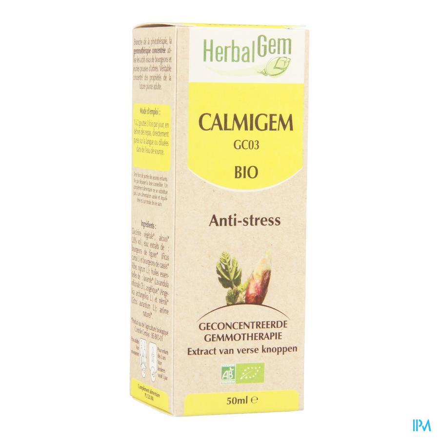 Herbalgem Calmigem Relaxerend Complex Druppels 50 ml  -  Herbalgem