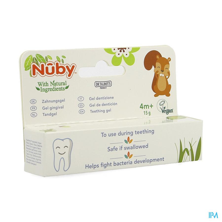 Nuby Tandgel 4m+ 15g