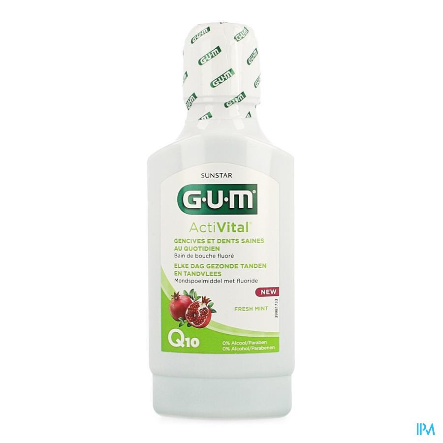 Gum Activital Mondspoeling 300ml