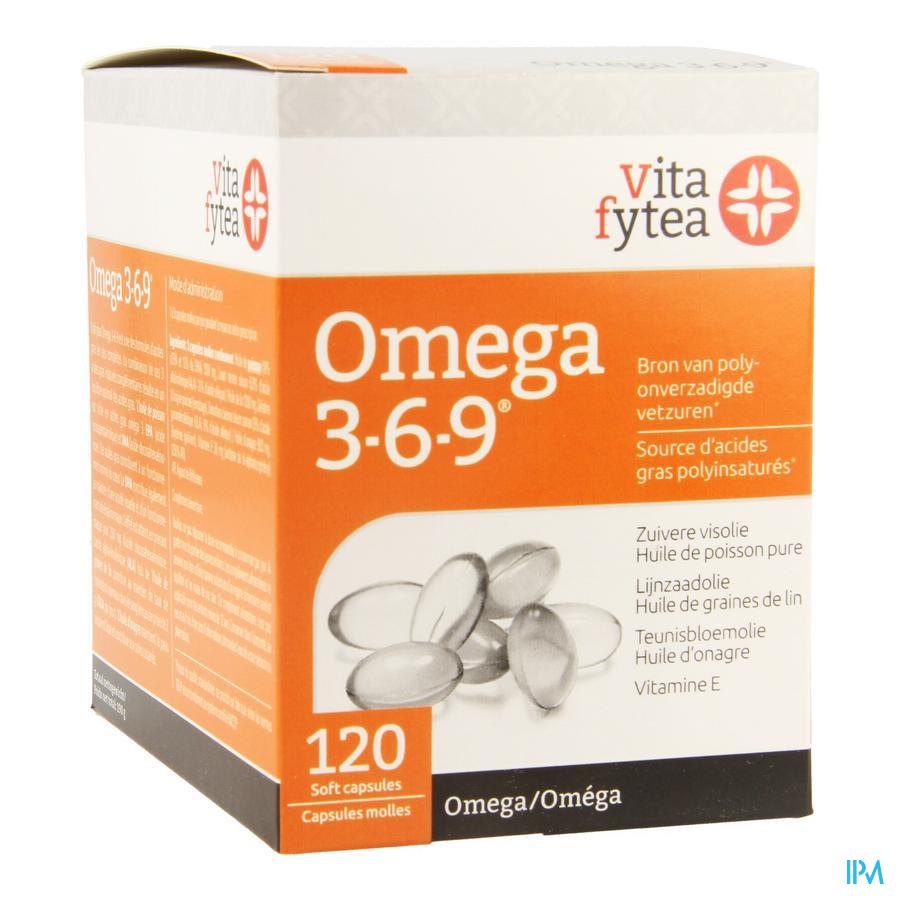 Vitafytea Omega 3 6 9 Comp 120