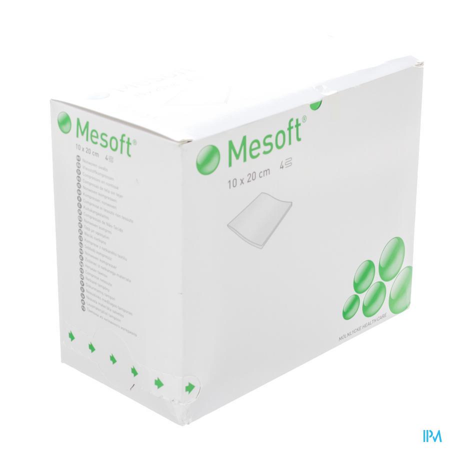 Mesoft Kompres Steriel 4l 20x10cm 60x2 156440 - Molnlycke Healthcare