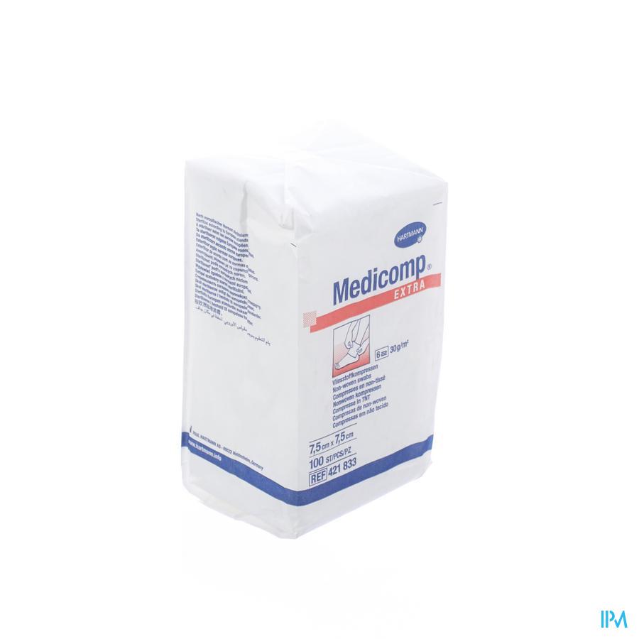 Medicomp Kp N/st 6pl 7,5x7,5cm 100 4218334