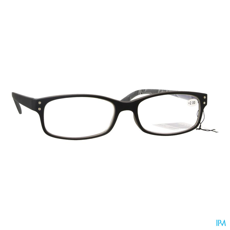 Pharmaglasses Visionblue Pc01 Leesbril +2.00 Black