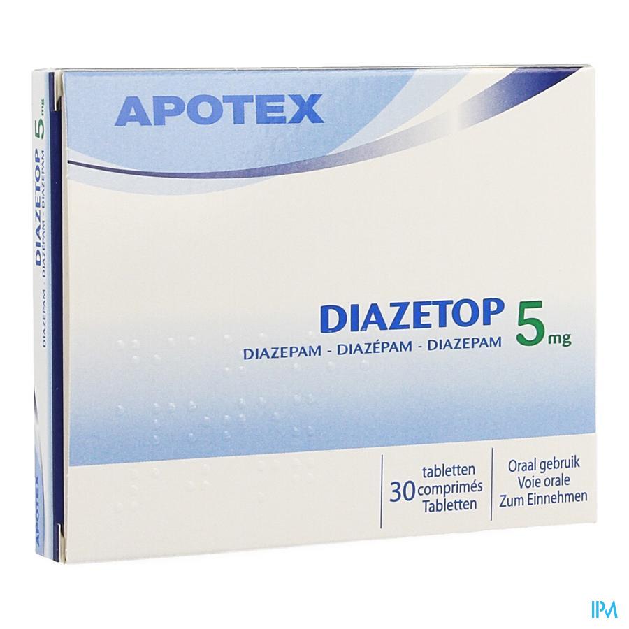 Diazetop 5 mg Tabletten 30 X 5 mg
