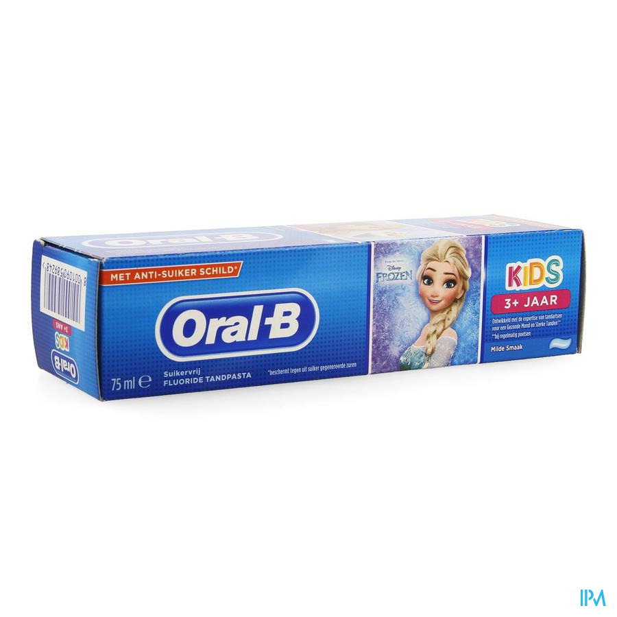 Oral B Tandpasta Kids +3jaar 75ml