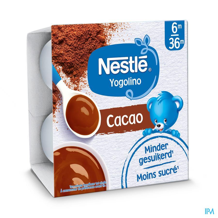 Nestle Yogolino Dessert Chocolade Pot 4x100g