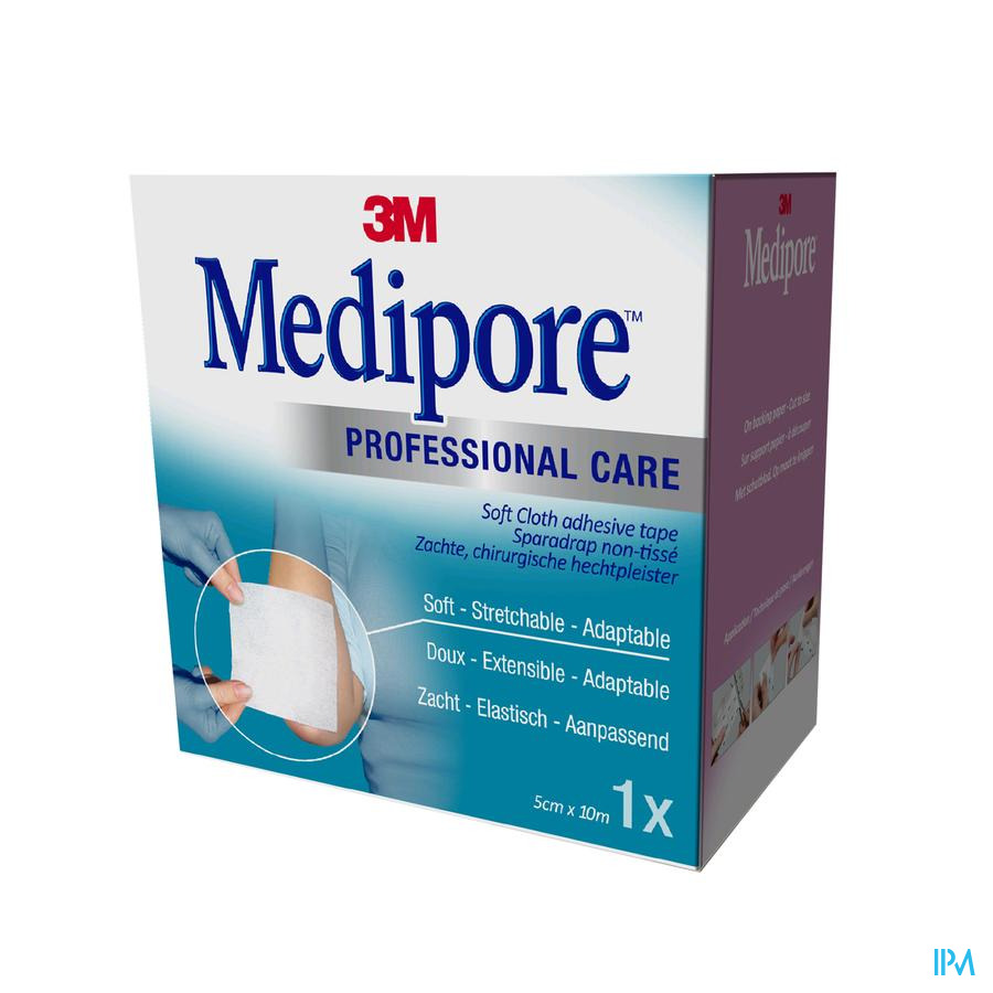 Medipore 3m Pans Elast Adh 5cmx10m Roul.1 2991p-1