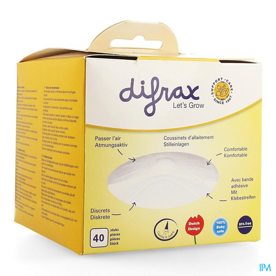 Difrax Zoogkompres 40