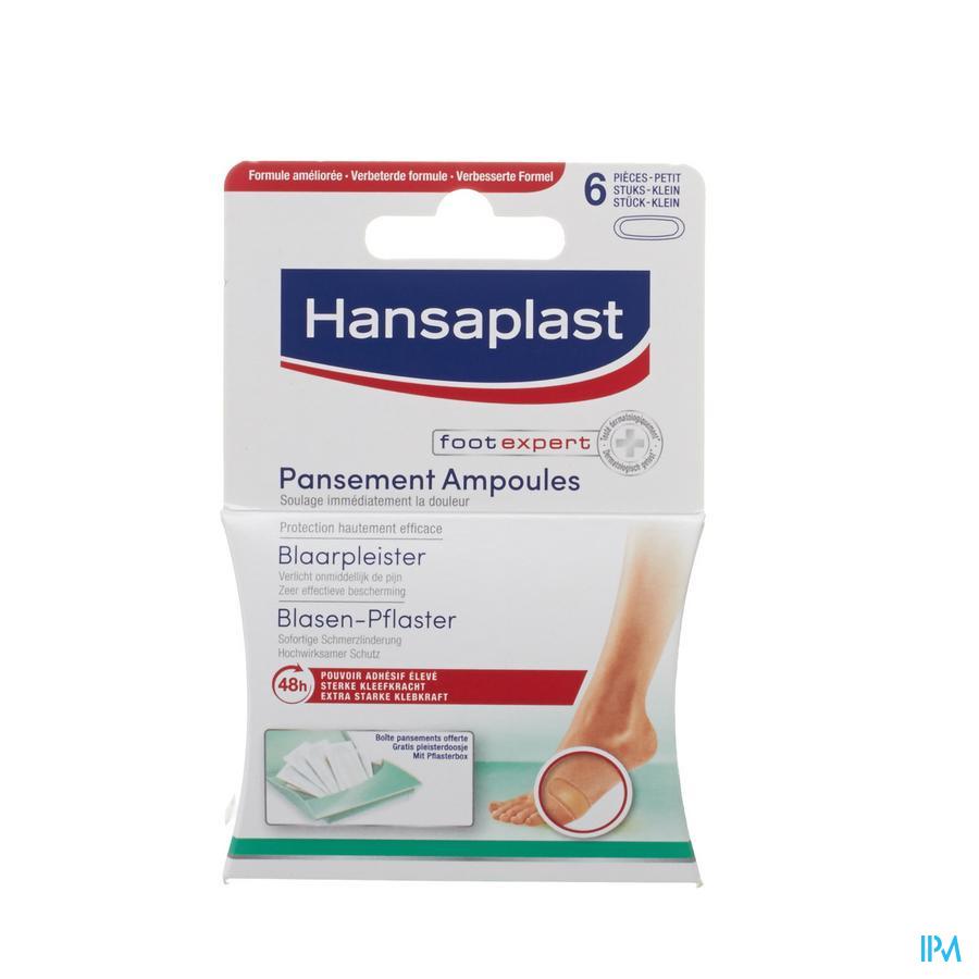 Hansaplast Sos Blaarpleister Klein Strip 6