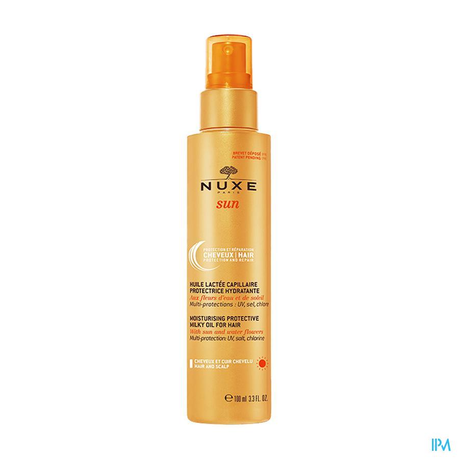 Nuxe Sun Huile Lacte Capil. Protect Hydra Fl 100ml