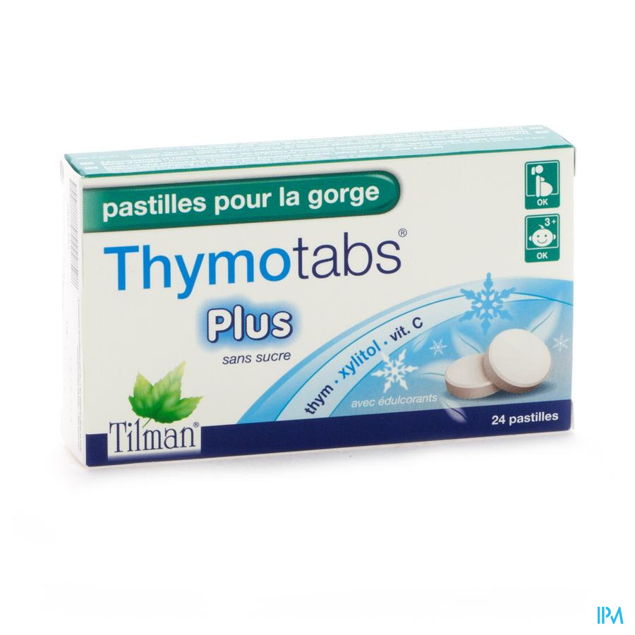 Thymo Tabs Plus Past A Sucer 24 Cfr 3110319