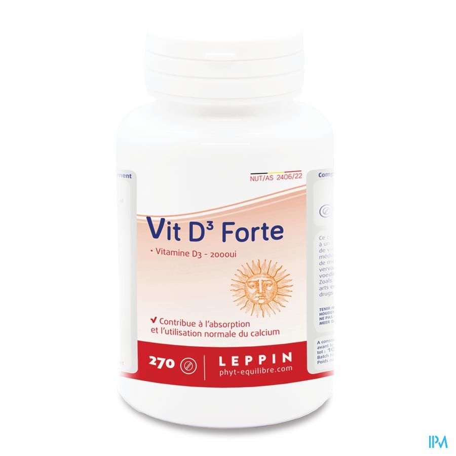 Leppin Vit D3 Forte Comp 270
