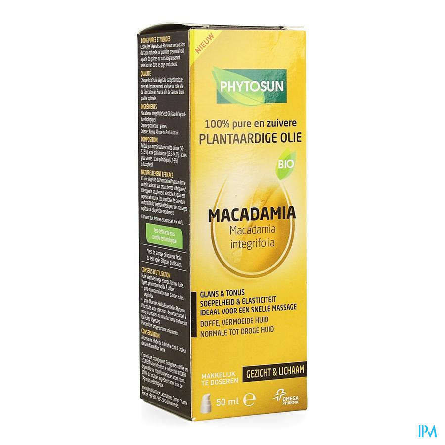 Phytosun Po Macadamia Bio 50 ml Be2