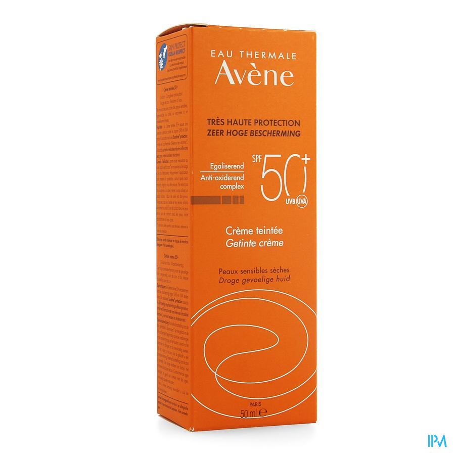Avene Creme Solaire Teinte Ip50+ Nf 50ml