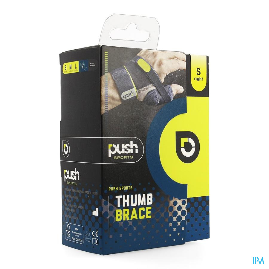 Push Sports Duimbrace S Rechts