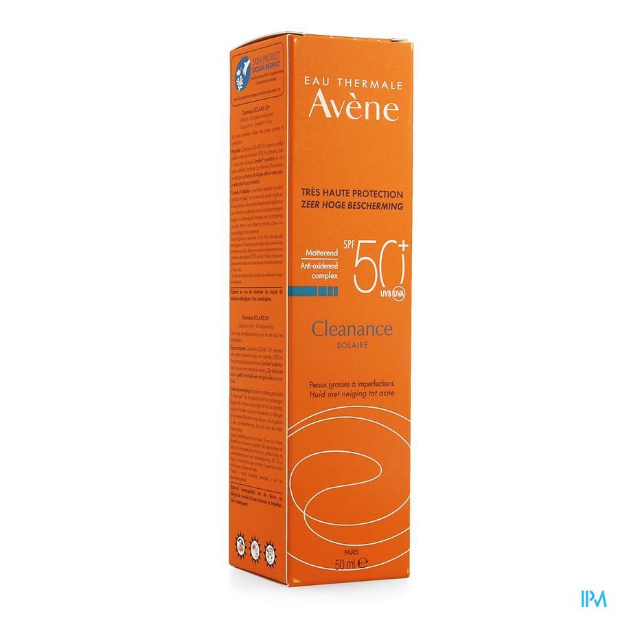 Avene Zon Cleanance Solaire Ip50 + 50 ml