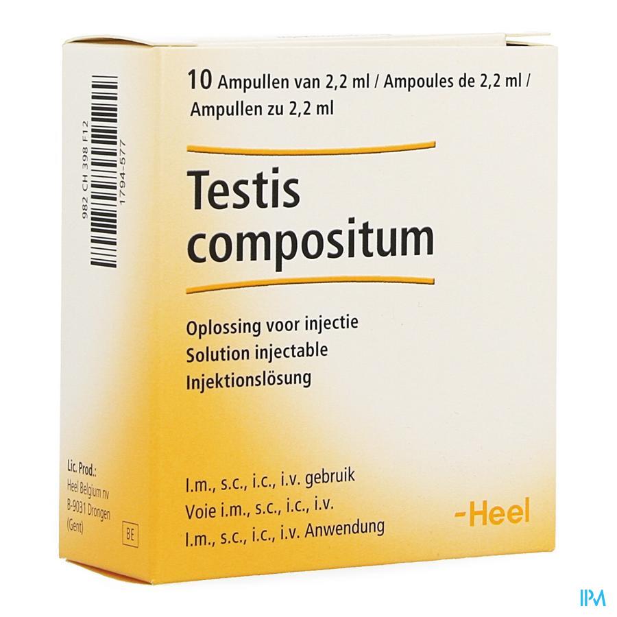 Testis Compositum Ii Ampoule 10x2,2ml Heel