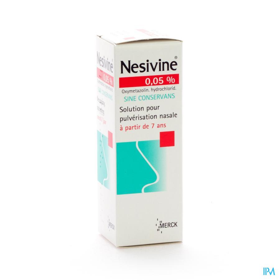 Nesivine 0,05% Sine Conserv Spray Nasal 15ml