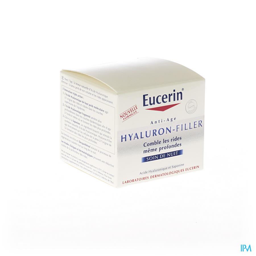 Eucerin Hyaluron Filler Creme Nuit Nf 50ml