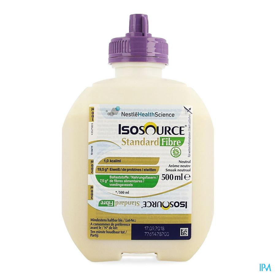 Isosource Standard Fibre Smartflex 500ml 12139014