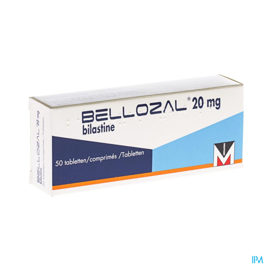 Bellozal 20mg Comp Pell 50 X 20mg