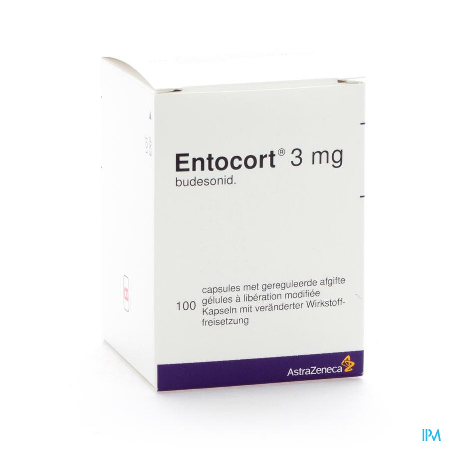 Entocort Caps 100 X 3mg